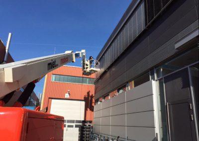 Fassadenreinigung & Glasreinigung